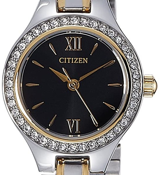 Citizen Analog Black Dial Women's Watch - EJ6094-52E