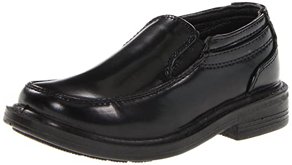Deer Stags Brian Slip-On Dress Shoe (Toddler/Little Kid/Big Kid),Black,5.5 M US Big Kid
