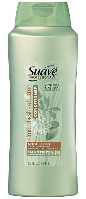 Suave Professionals Conditioner, Almond + Shea Butter 28 oz