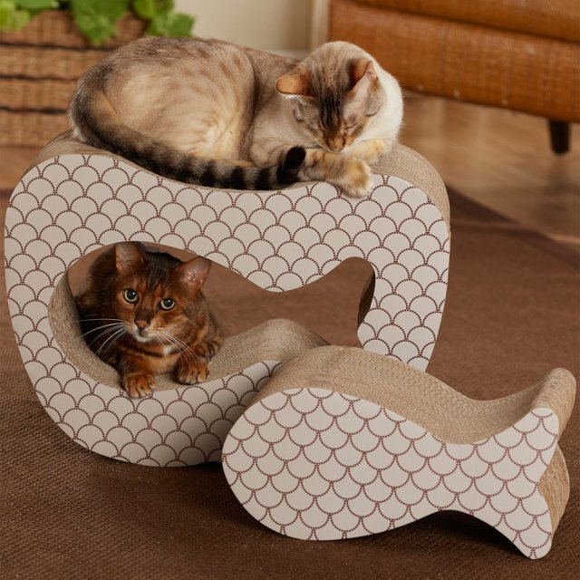 Cat Scratch Pad Fish Shaped