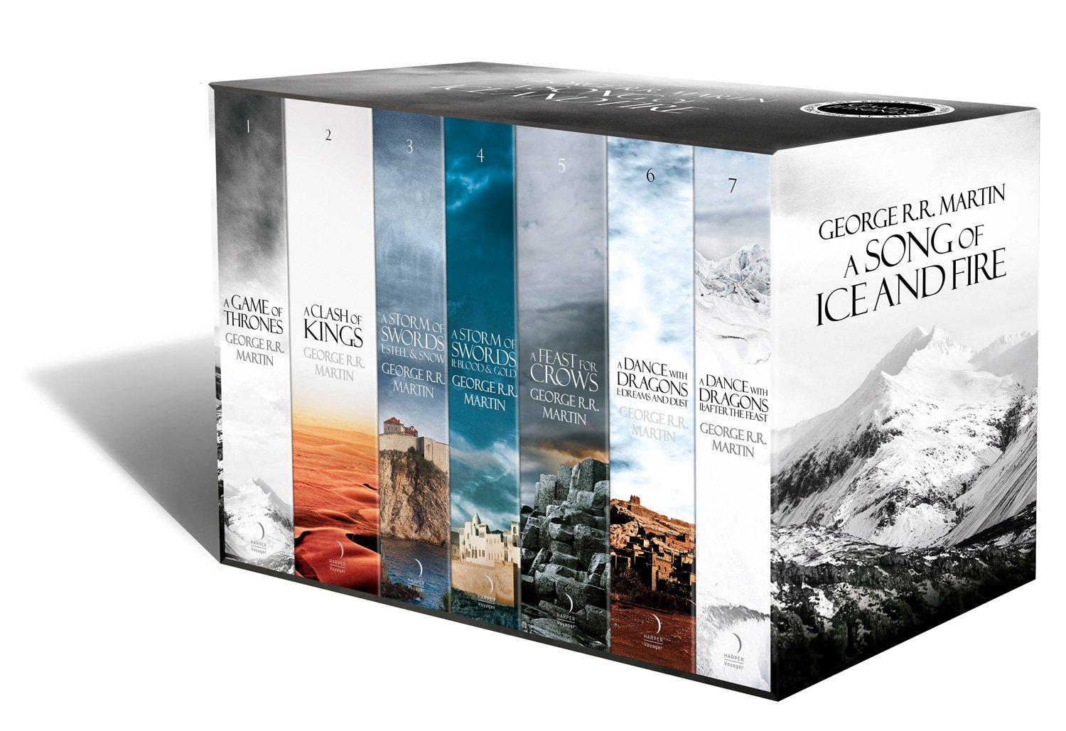 Image result for Game of thrones book box set
