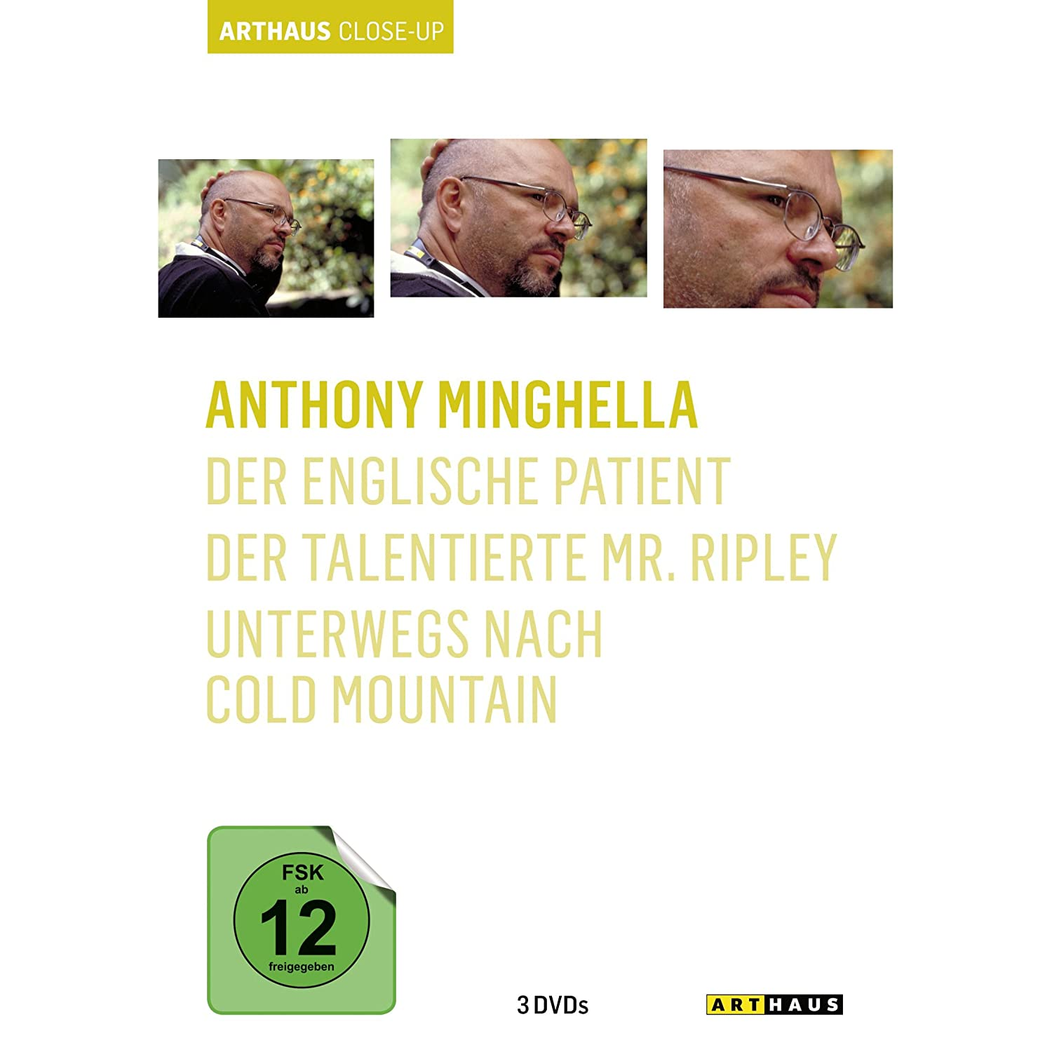 Anthony Minghella - Arthaus Close-Up [3 DVDs]; ca. 18 Euro