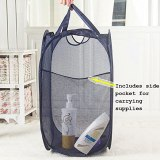 Pop-Up Mesh Laundry Basket