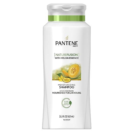 Pantene Pro-V Nature Fusion Moisturizing Shampoo With Melon Essence - Powered By Cassia, 21.1 Fl Oz, 21.100-Fluid Ounce