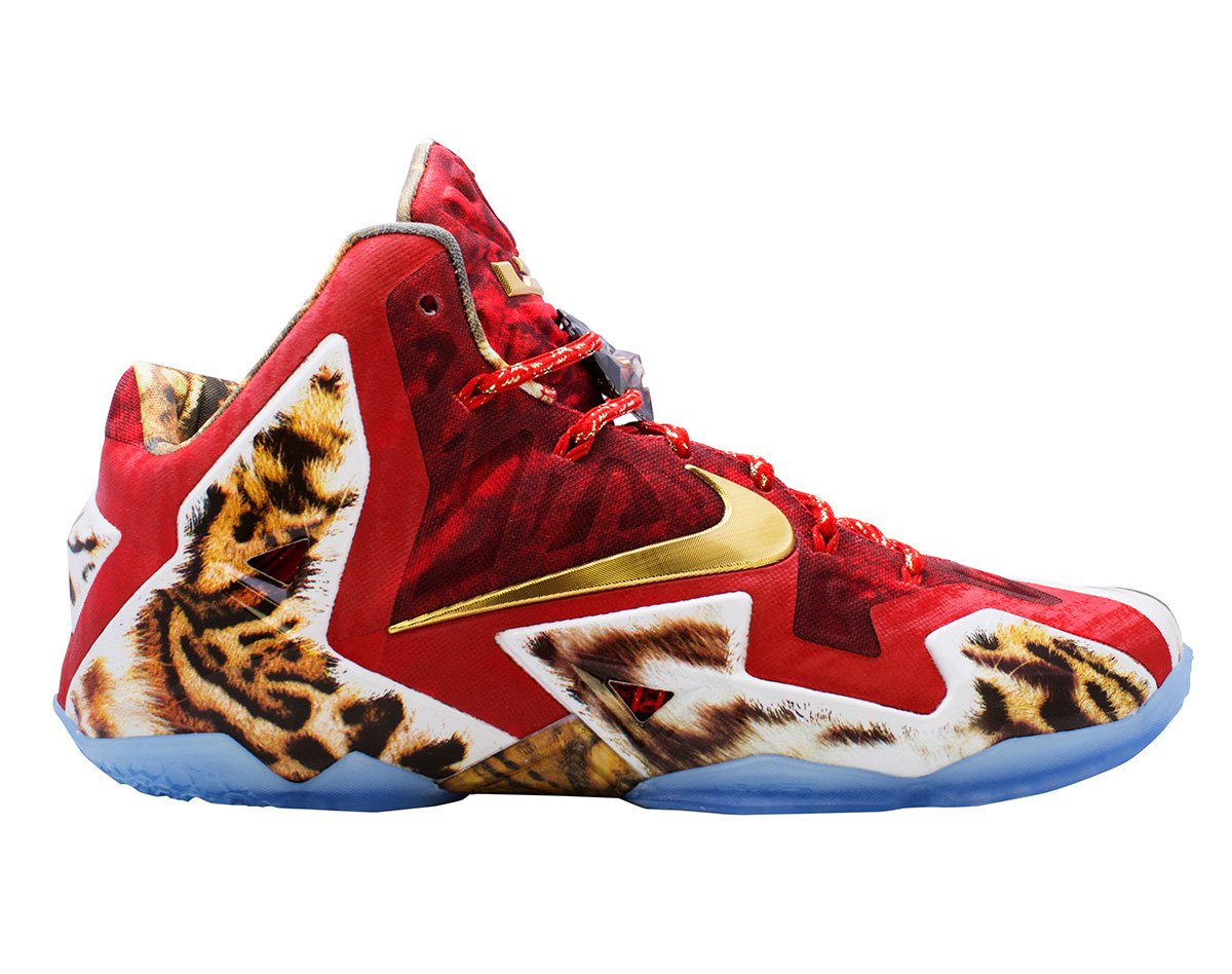 "NIKE LEBRON 11 ""2K14"" - 650884 674 - (11 US / 10 UK)"