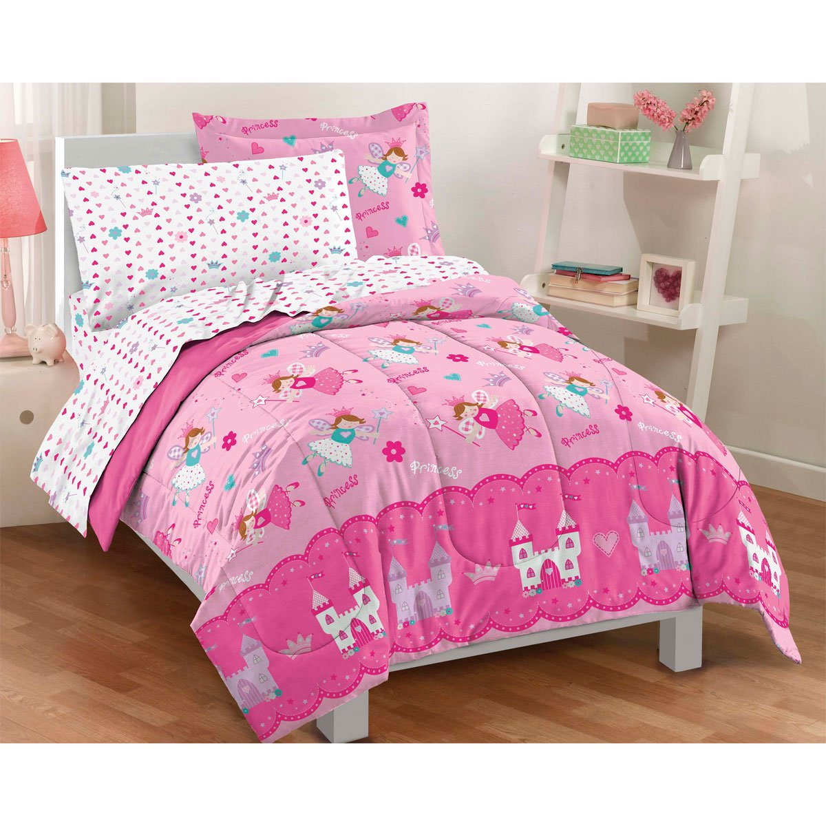 Magical Princess Twin Mini Bed in a Bag