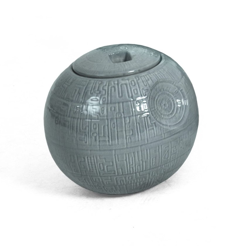 Star Wars Decor Items: death star cookie jar
