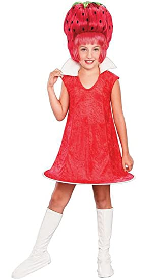 Strawberry Tart Costume - Child Medium