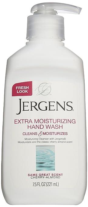 Jergens Extra Moisturizing Liquid Hand Wash Pump, 7.5 Fl Oz