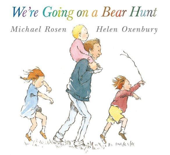 We're all going on a bear hunt