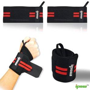 e3b741ba123b Protège-poignet sport, bracelet main-poignet, Lot de 2, de chez IPOW  Ceinture protectrice pour gymnastique  culturiste musculation aérobic sports body- ...
