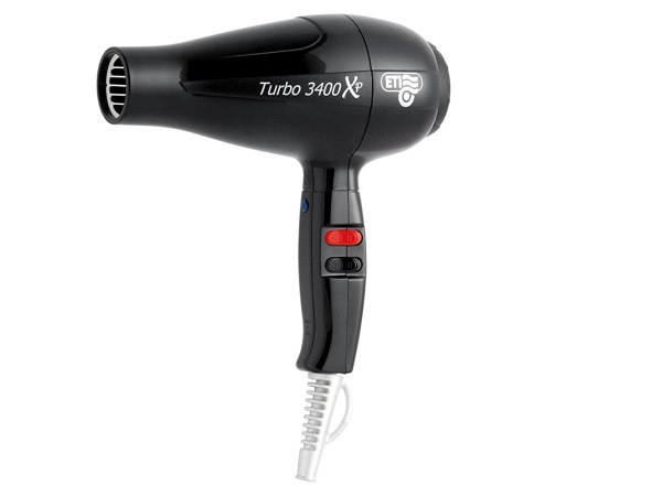 ETI Turbo 3400 XP Hair Dryer (Black)