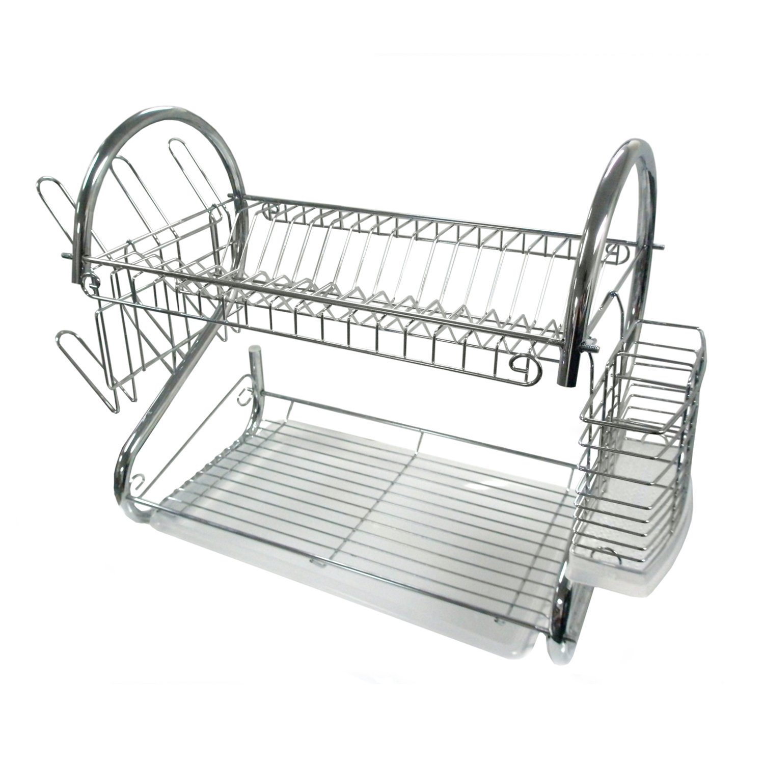 Better Chef Dr 16 2 Tier Dish Rack 16 Inch Chrome