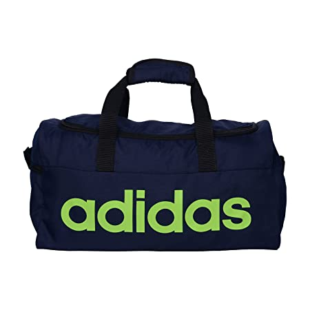 ADIDAS BLUE UNISEX POLYESTER Softsided Gym/Travel Duffle
