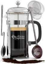 French Press Coffee & Tea Maker Complete Bundle