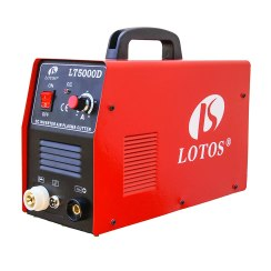 Lotos LT5000D Plasma Cutter 50Amps Dual Voltage Compact Metal Cutter