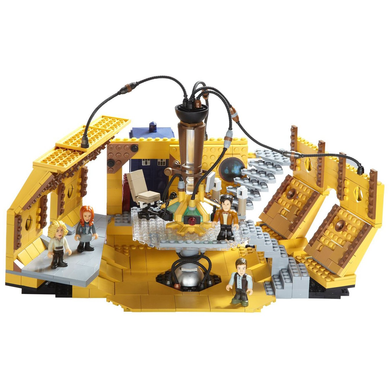 Doctor Who Character Building Tardis Console Room Mega Set