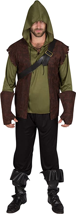 Adult Men's Authentic Robin Hood Costume by Capital Costumes (Extra Large)