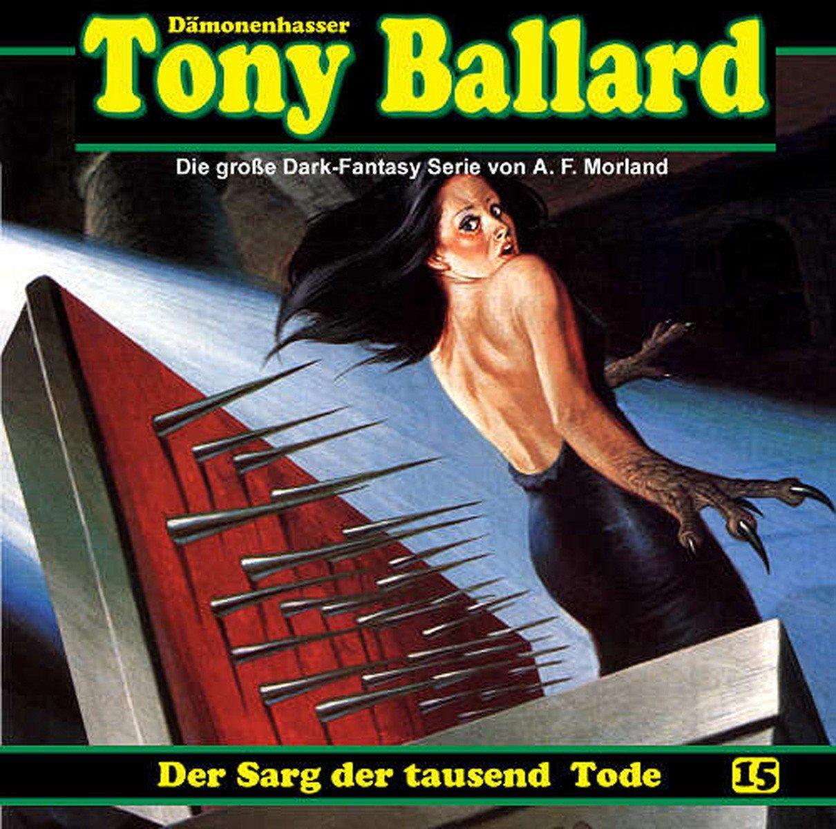 Tony Ballard (15) Der Sarg der tausend Tode (DLP)