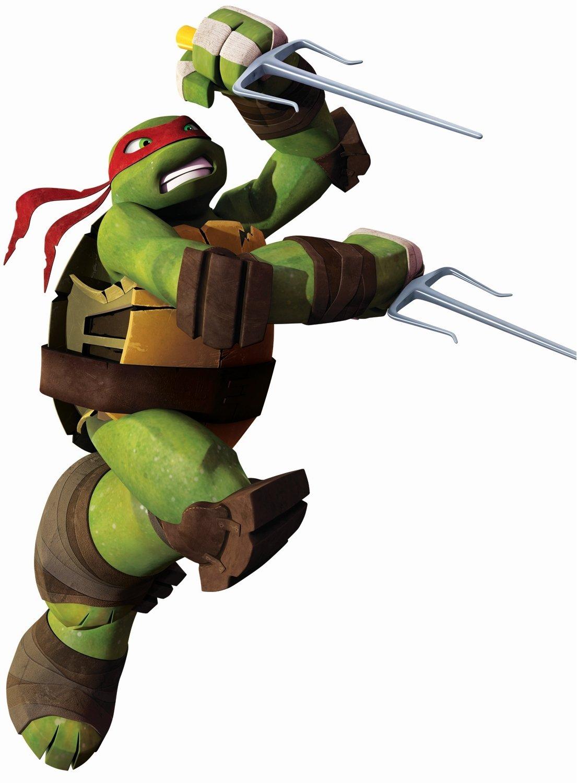 Teenage Mutant Ninja Turtles Ralph Peel and Stick Giant Wall Decals
