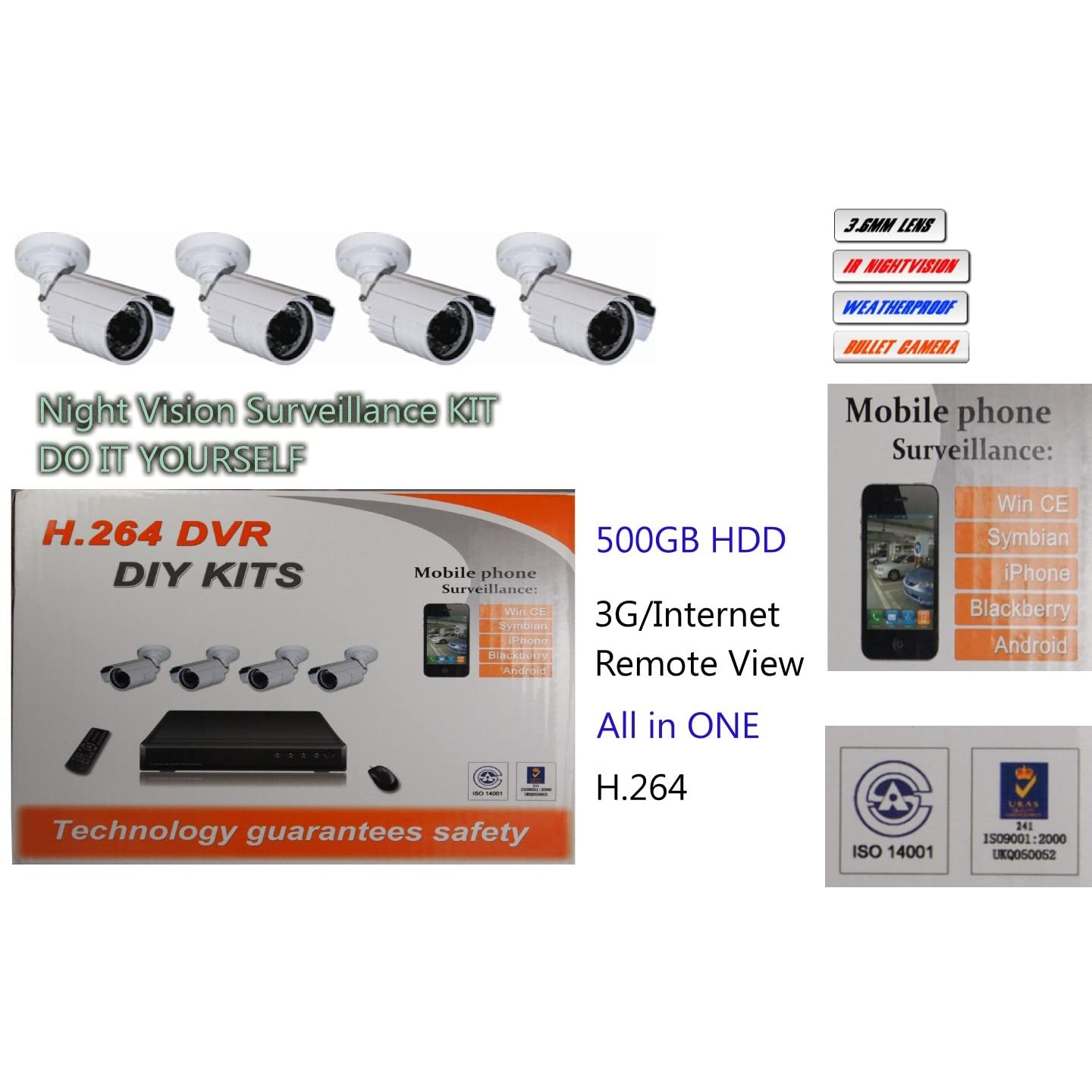 Do It Yourself Security Systems Home Cameras