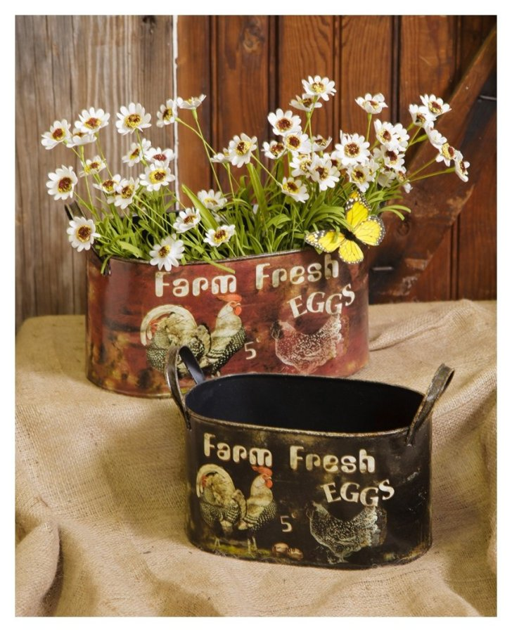 Rooster Kitchen Canisters