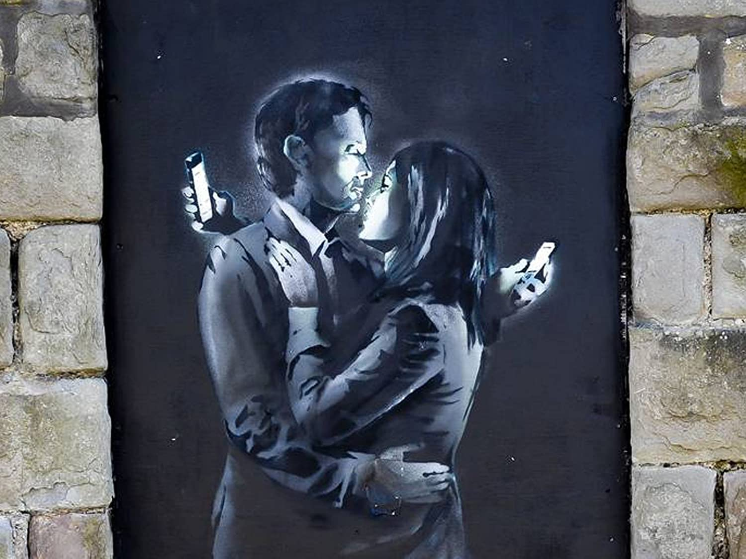 Banksy - Mobile lovers 02
