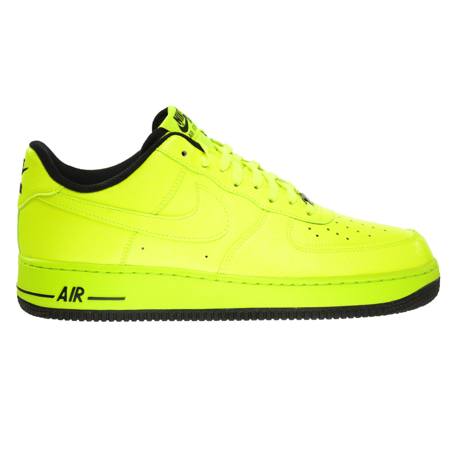 Nike Air Force 1 Men's Shoes Volt/Volt-Black 488298-703