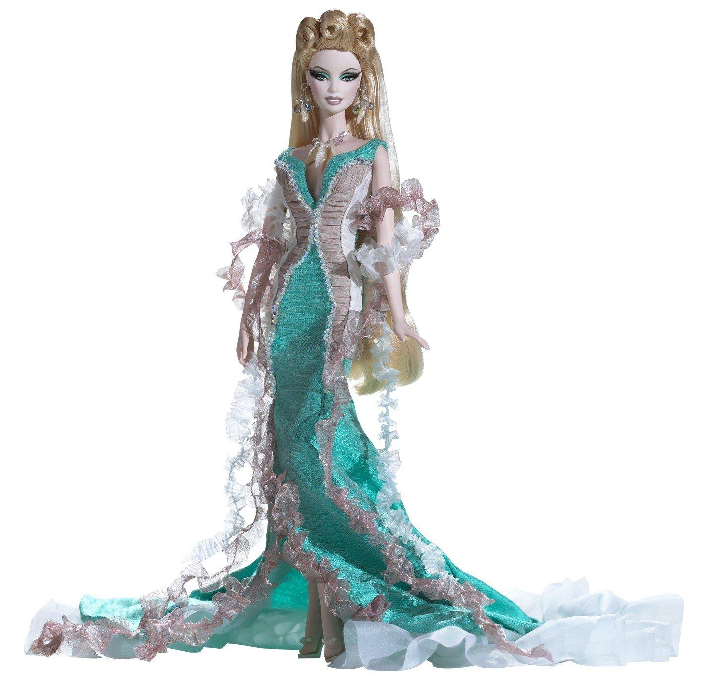 Barbie Exclusive 2009 GOLD Fantasy Series - APHRODITE