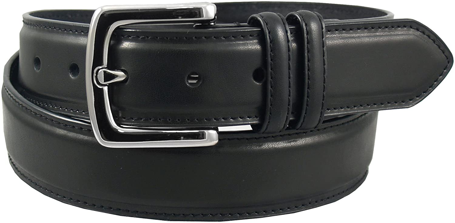 Dickies Men's 35Mm Feather Edge Belt With Stitch Belt