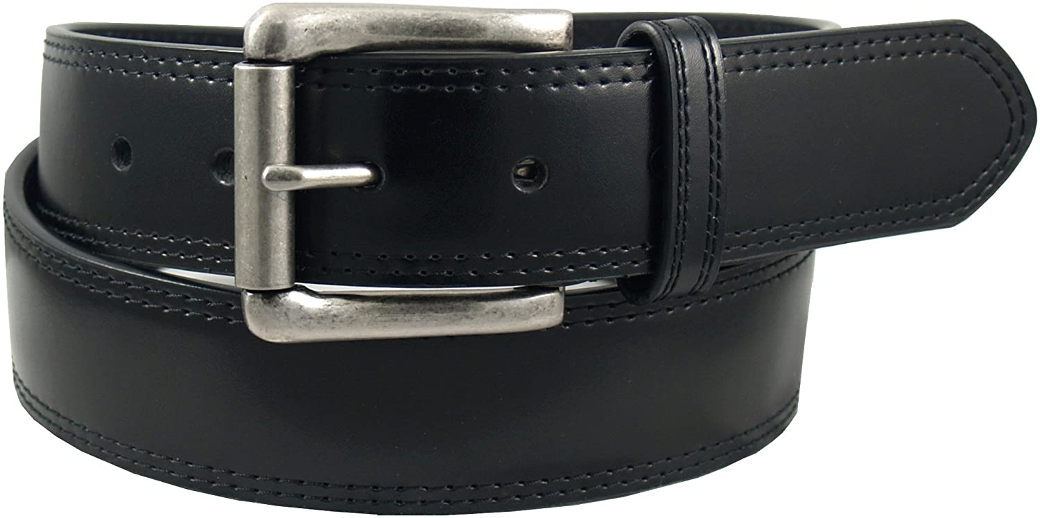 Dickies Men's 40Mm Bridle With Double Row Stitch Belt