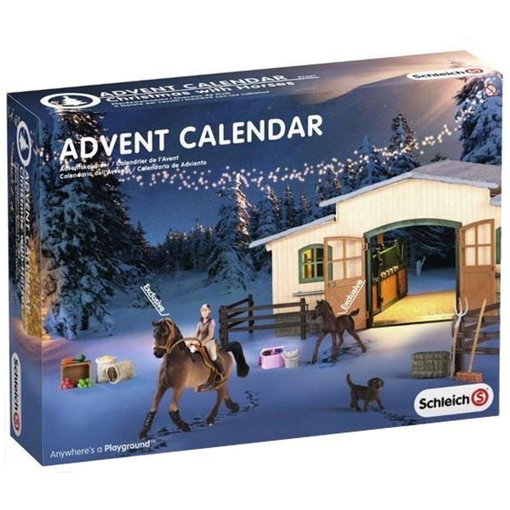 calendrier de l'Avent SCHLEICH - chevaux de Noël