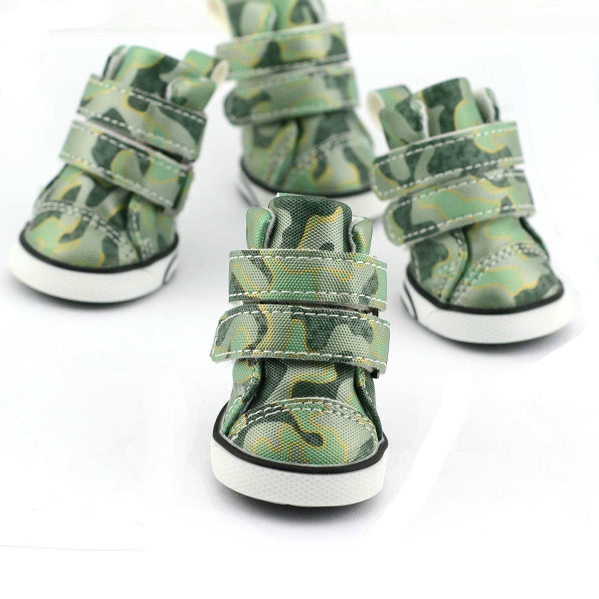 Puppy Dog Shoes Classic Camouflage Small Dog Boots