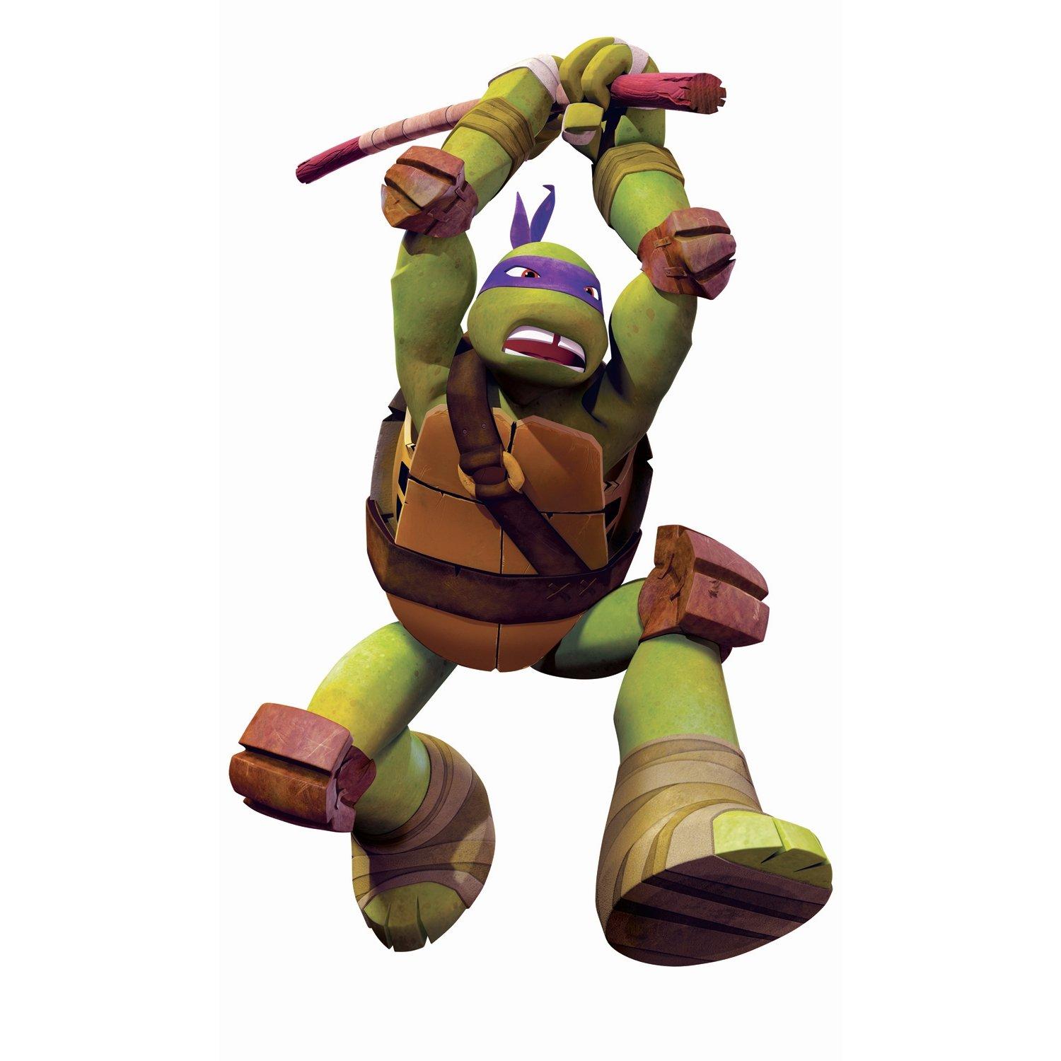 Teenage Mutant Ninja Turtles Don Peel and Stick Giant Wall Decals