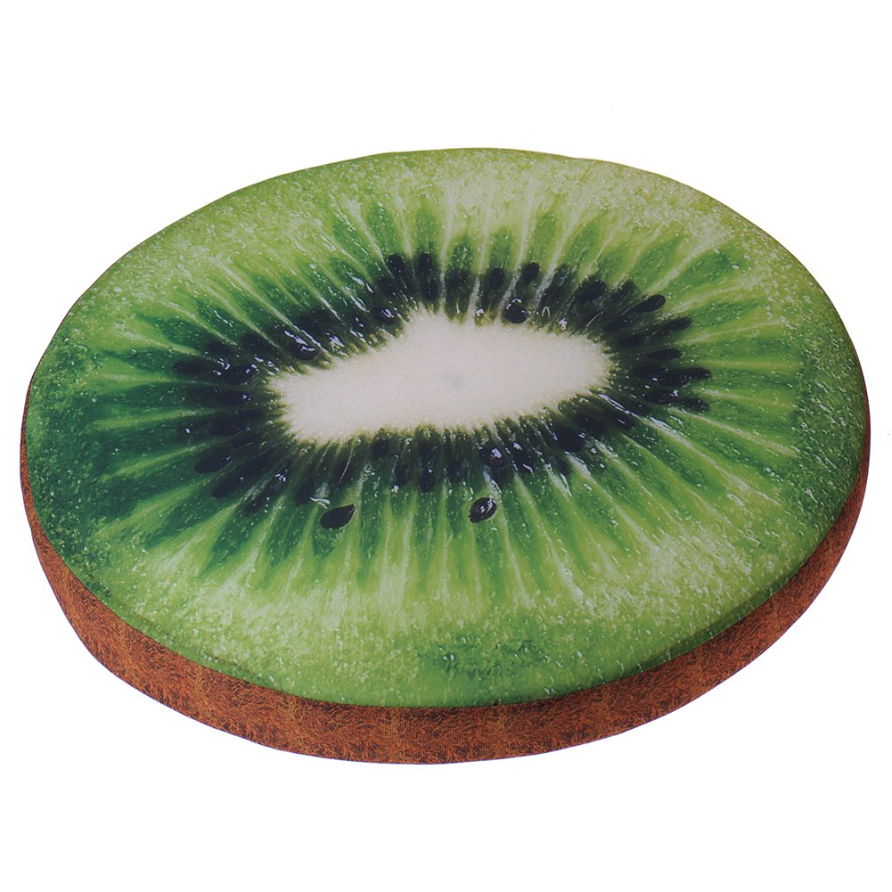 Comfortable Summer Fruit Round Pet Cushion Cat Dog Mat Pet Pad Bed Cover for Small Dogs