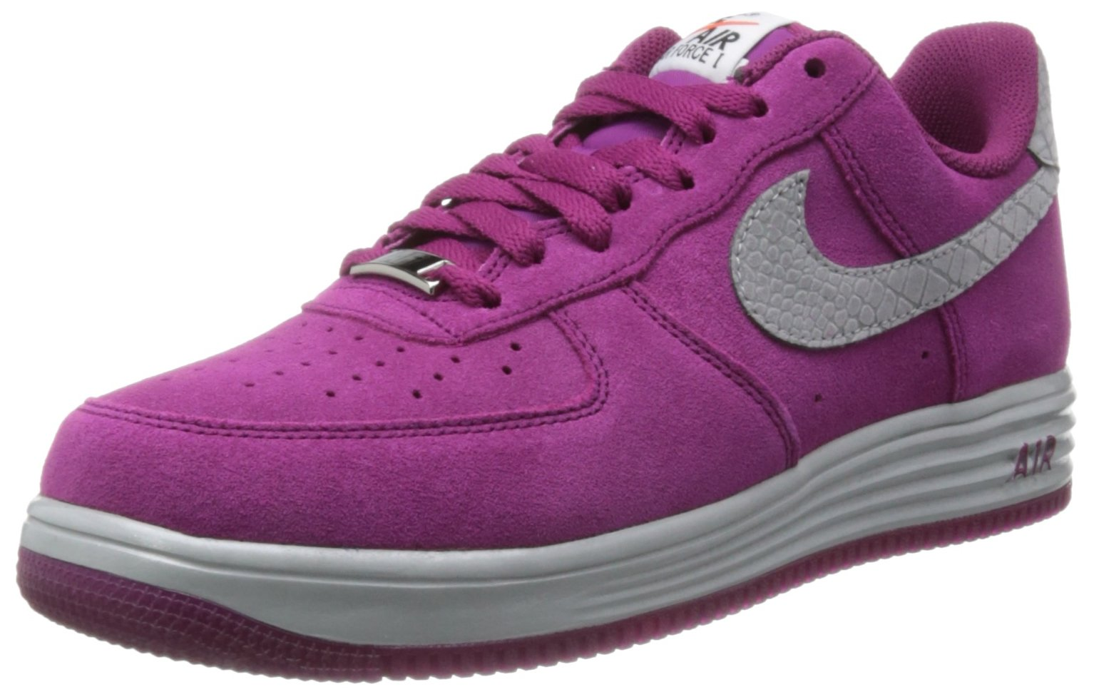 Nike Lunar Force 1 Air Force Sneakers Raspberry Red (8.5)