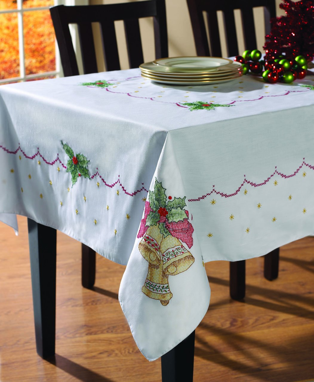 Christmas Bells Tablecloth