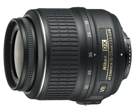 Nikon 18-55mm f/3.5-5.6G AF-S DX VR Nikkor Zoom Lens