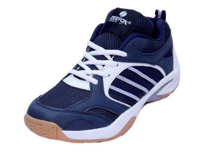 Zeefox 3300F Men's PU Badminton Shoes Navy Blue