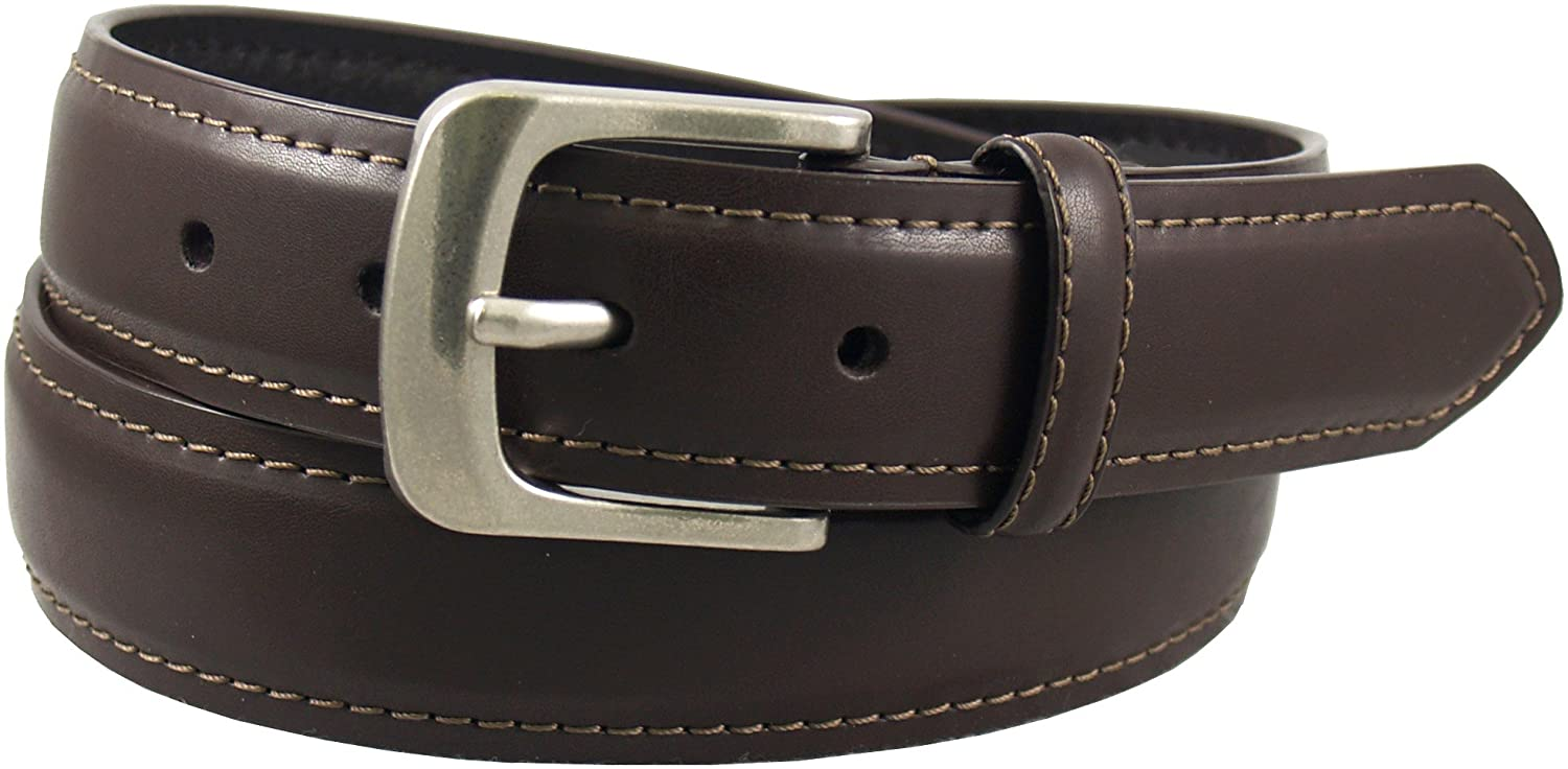 Dickies Men's 35Mm Feather Edge Padded Belt With Contrast Stitch Belt