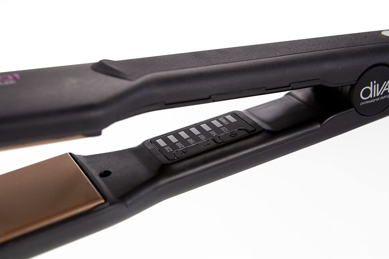 Diva Professional Styling Feel The Heat Wide Straightener