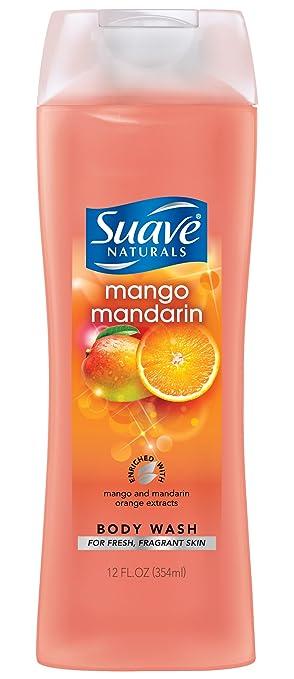 Suave Naturals Body Wash, Mango Mandarin, 12 Ounce