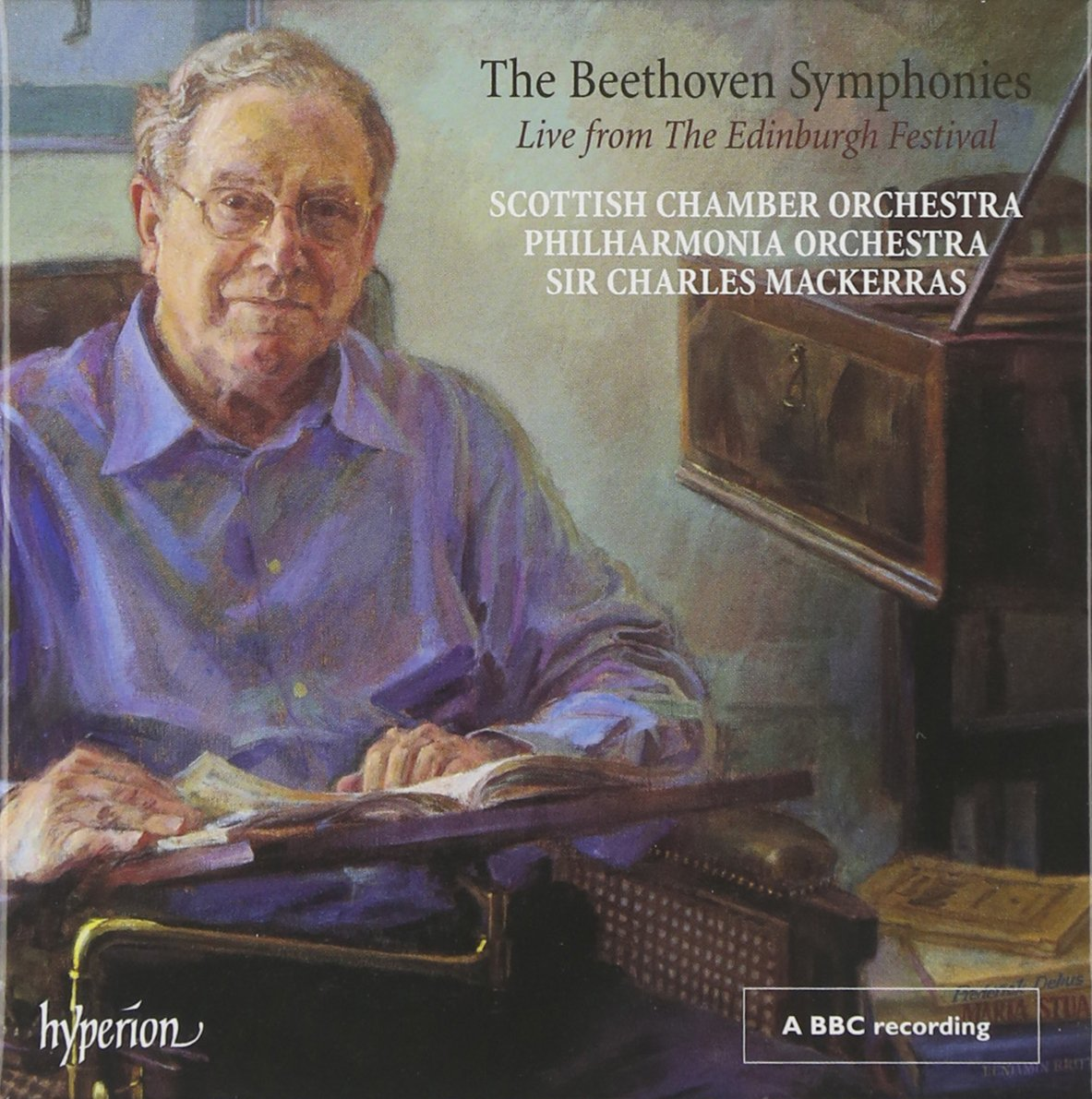 The Beethoven Symphonies Live from The Edinburgh Festival (Mackerras)