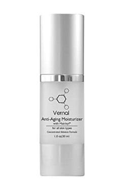 Vernal Anti Aging Moisturizer Cream, All in One with Tetrapeptides & Vitamin C, Best Anti Aging Cream, Best Anti-Wrinkle Cream, Instant-Lift Solution. Anti Aging Skin Care, Diminish Fine Lines & Wrinkles. Net Wt 1.0 oz/ 30 ml
