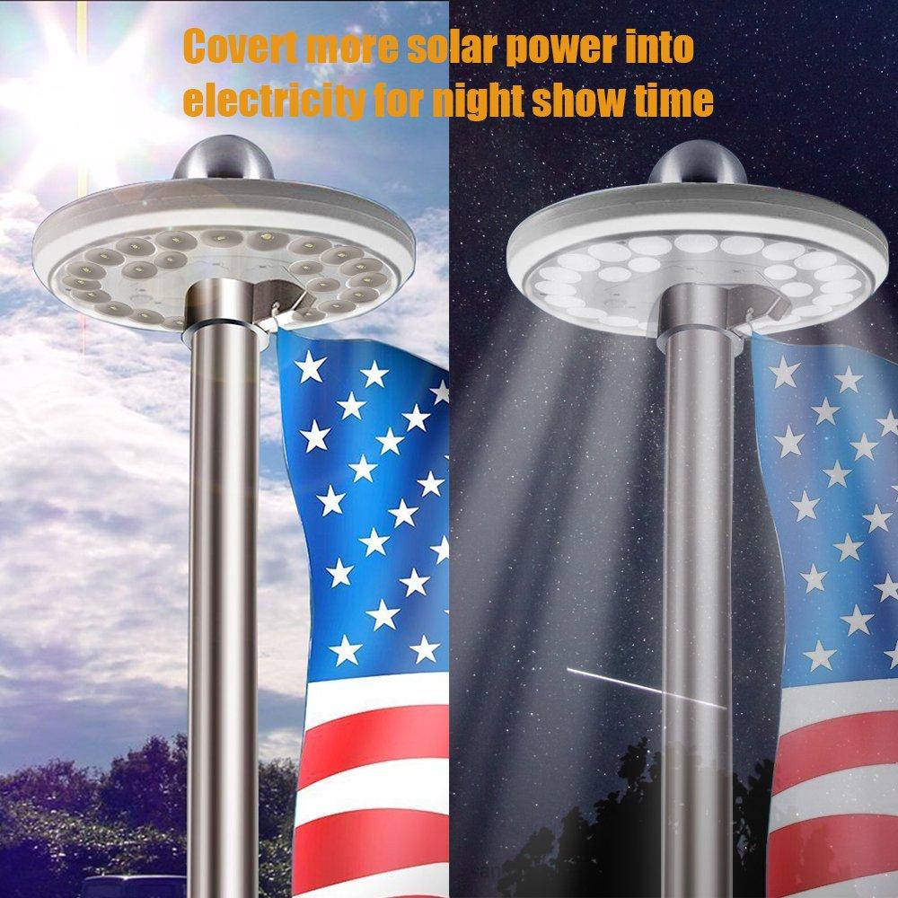 Solar Powered Led Outside Lights