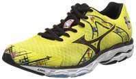 Mizuno Women's Wave Inspire 10 Running Shoe,Yellow,7.5 B US