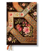 Ebony Filigree Floral 2013 - 2014 Weekly Planner