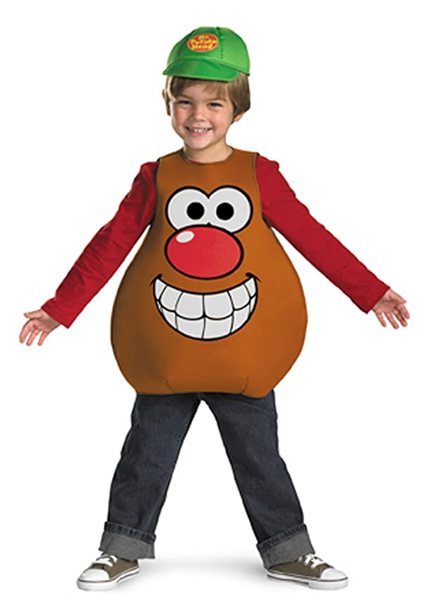 Mr Potato Head Classic Child Costume, Toddler (3T-4T)