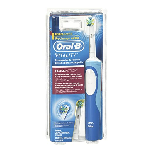 Oral-B Vitality Floss Action Rechargeable Electric Toothbrush 1 Count