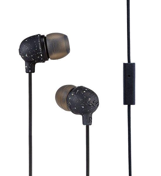 House of Marley Little Bird EM-JE061 In-Ear Headphone With Mic (Black)